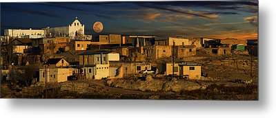 Pueblo Sunrise Metal Print by Wendell Thompson
