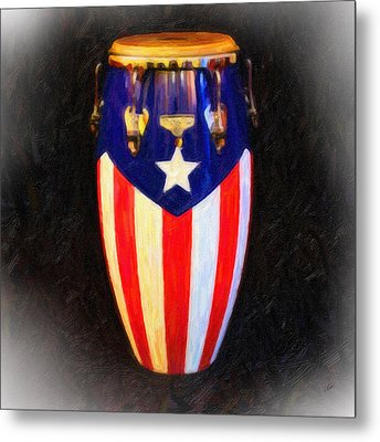 Puerto Rican Bomba Metal Print by Dean Wittle