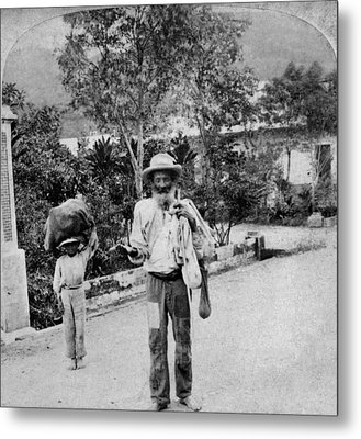 Puerto Rico Beggar, C1900 Metal Print by Granger