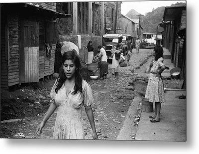 Puerto Rico Slum, 1942 Metal Print by Granger