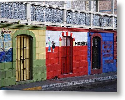 Puerto Rico, Vieques, Isabela Segunda Metal Print by Jaynes Gallery