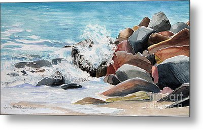 Puerto Vallarta Rocks Metal Print
