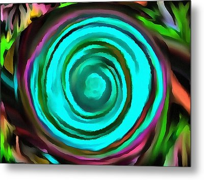 Pulled Metal Print by Catherine Lott