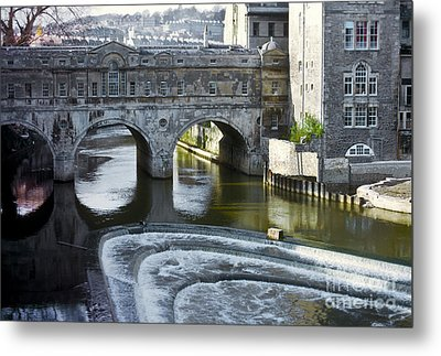 Pulleney Bridge Metal Print by Bob Phillips
