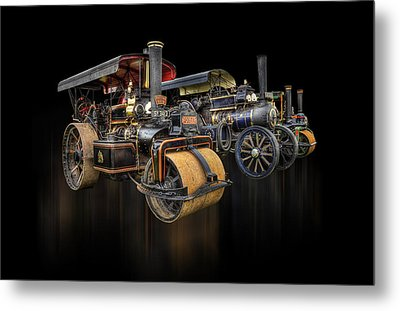 Metal Print featuring the photograph Pulling Power  by Stewart Scott