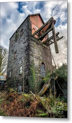 Pump House Metal Print by Adrian Evans