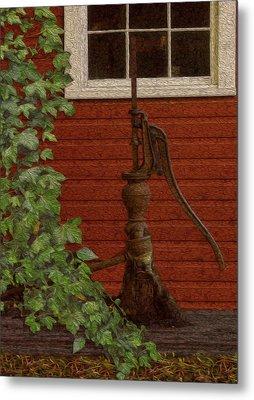 Pump Metal Print by Jack Zulli