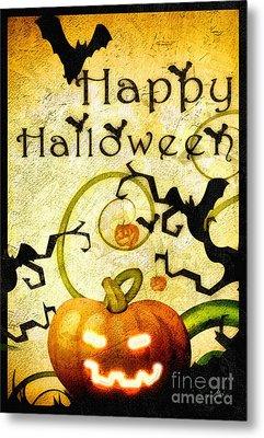 Pumpkin Metal Print by Mo T