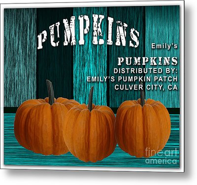 Pumpkin Patch Metal Print by Marvin Blaine
