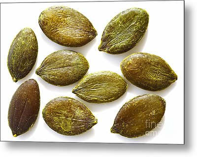 Metal Print featuring the photograph Pumpkin Seeds by Craig B