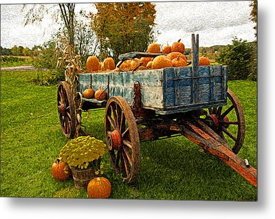 Pumpkins Metal Print by Bill Howard