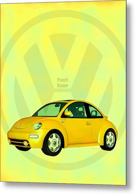 Punch Buggy Metal Print by Bob Orsillo