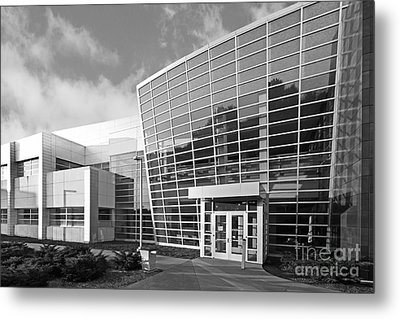 Purdue University Birck Nanotechnology Center Metal Print by University Icons