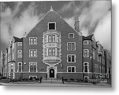 Purdue University Duhme Residence Hall Metal Print by University Icons