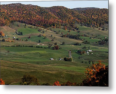 Metal Print featuring the photograph Pure Country by David Lester