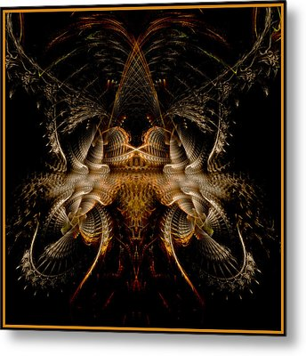 Metal Print featuring the digital art Pure Epic Render by Melissa Messick