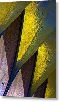 Pure Gold Metal Print by Raymond Kunst