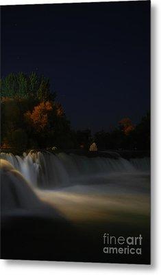 Pure Spirits Of The Waterfall Metal Print by Erhan OZBIYIK