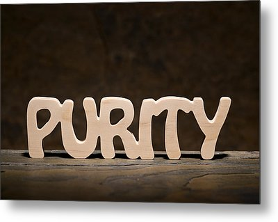 Purity Metal Print by Donald  Erickson