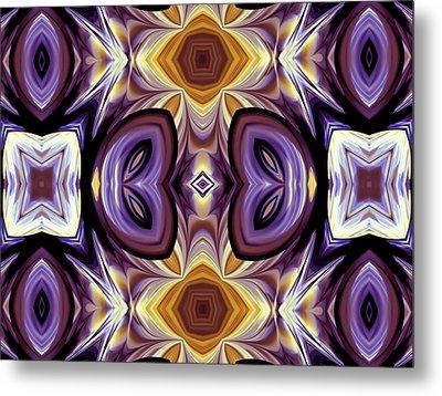 Purple Boudoir Metal Print by Georgiana Romanovna