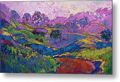 Purple Dawn Metal Print by Erin Hanson