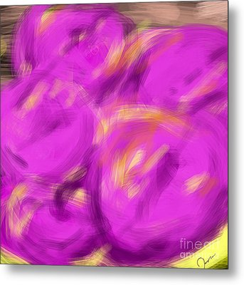 Purple Fruit Metal Print by James Eye