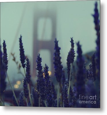 Purple Haze Daze Metal Print