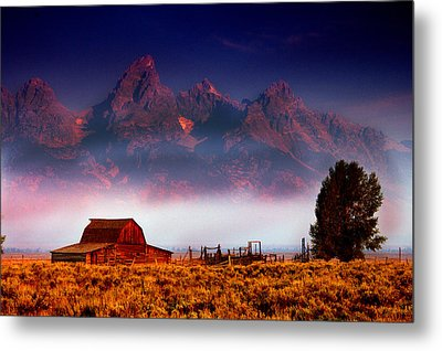 Purple Mountain Majesty Metal Print