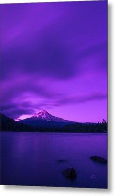 Purple Mountain Majesty Metal Print by Lori Grimmett