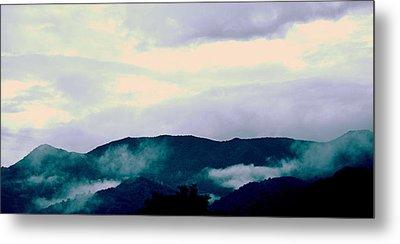 Purple Mountains Majesty Blue Ridge Mountains Metal Print