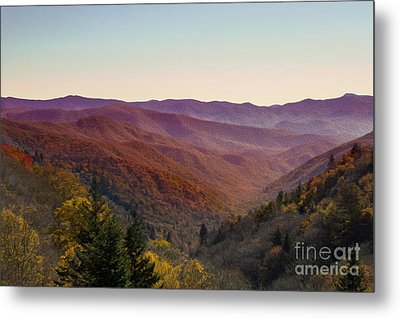 Purple Mountains Majesty Metal Print