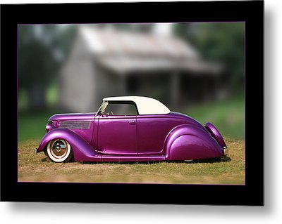 Metal Print featuring the photograph Purple Perfection by Keith Hawley