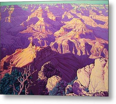 Purple Splendor Metal Print