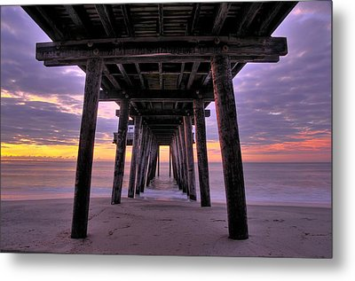 Purple Sunrise Metal Print by Dan Myers