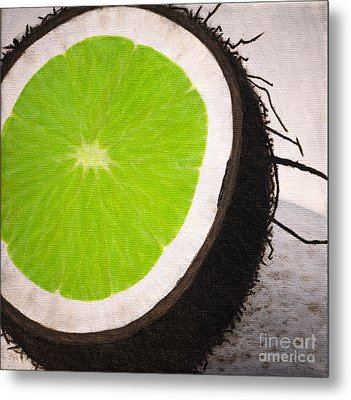 Put The Lime In The Coconut Metal Print by Philip G