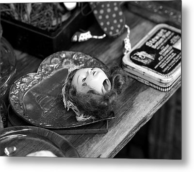 Put Your Head In Your Heart Metal Print by Atchayot Rattanawan