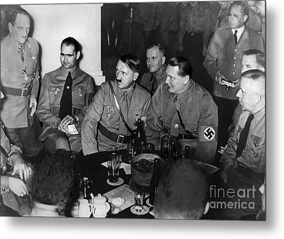 Putsch Anniversary, 1937 Metal Print by Granger