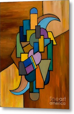 Puzzle IIi Metal Print by Larry Martin