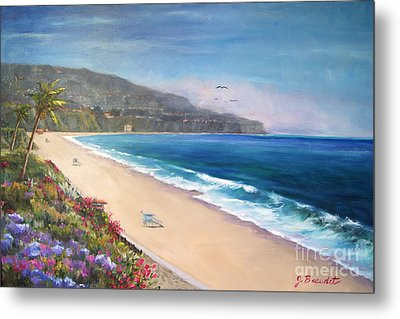Metal Print featuring the painting P.v. View by Jennifer Beaudet