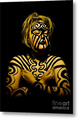 Pw Jk001 Metal Print by Kristen R Kennedy