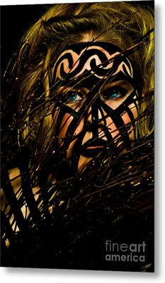 Pw Jk004 Metal Print by Kristen R Kennedy