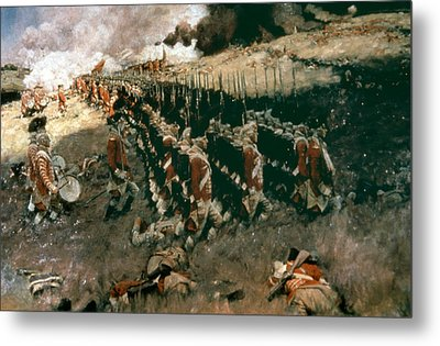Pyle: Battle Of Bunker Hill Metal Print