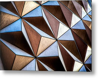 Metal Print featuring the photograph Pyramids  by Joshua Minso