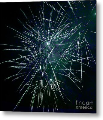 Pyrotechnic Delight Metal Print by John Stephens