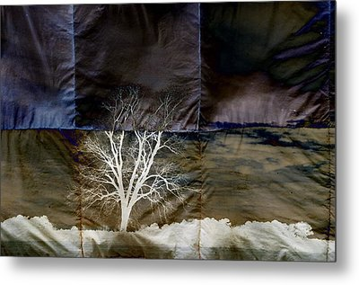 Quadrille Skies Metal Print by Jan Amiss Photography