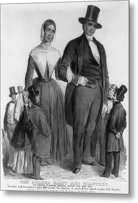 Quaker Giants, 1849 Metal Print