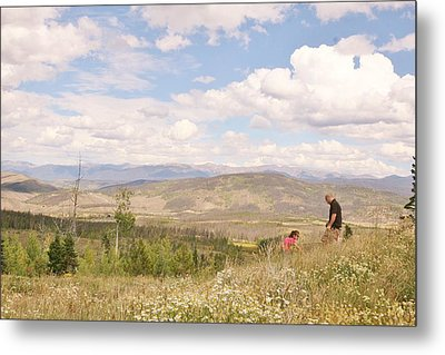 Metal Print featuring the photograph Quality Time by Shirley Heier