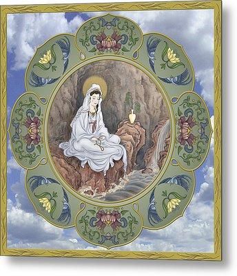 Quan Yin Celestial Blessings Metal Print