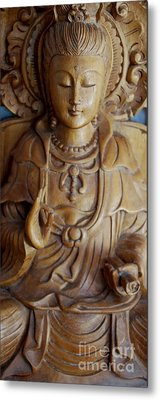 Quan Yin Compassion Metal Print by Dorothy Berry-Lound
