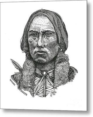 Quanah Parker Metal Print